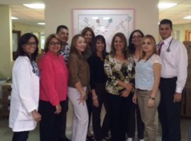 Staff at San Juan Hospital