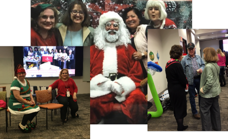 Photo: Holiday Party at Texas Children's Hospital