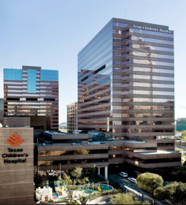 Photo: Texas Children's Hospital in Downtown Houston